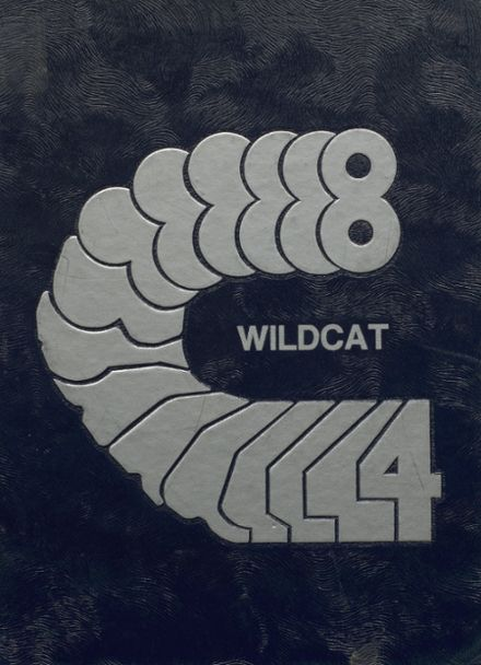 1984 Welch High School Yearbook Cover