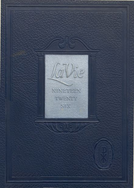 1926 Loulie Compton Seminary Yearbook Cover