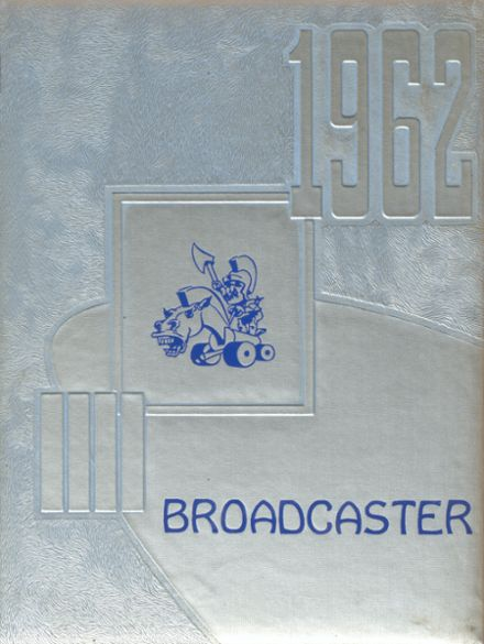 1962 Bokescreek Local High School Yearbook Cover