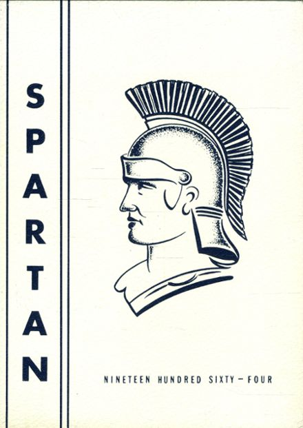 1964 Milford High School Yearbook Cover