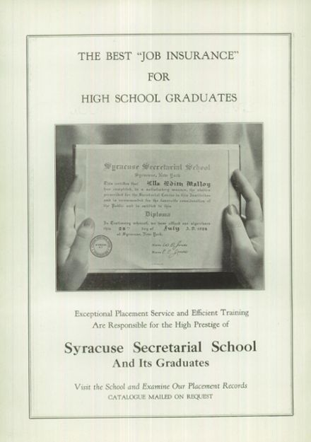 1936 Liverpool High School Yearbook Page 4