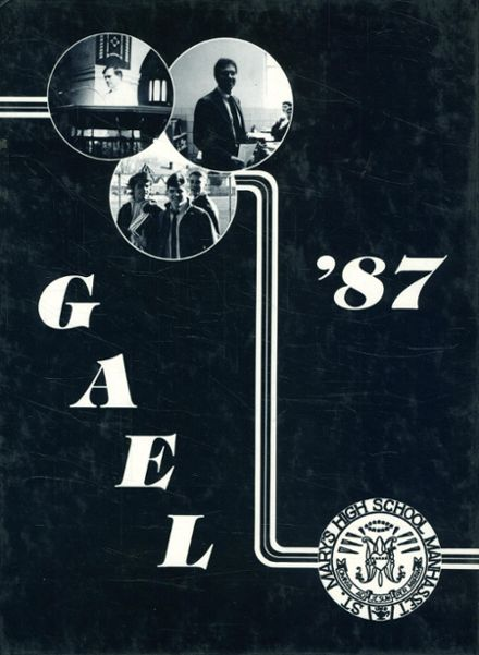 1987 St. Mary's High School Yearbook Cover