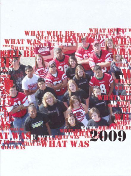 2009 Wellington High School Yearbook Cover