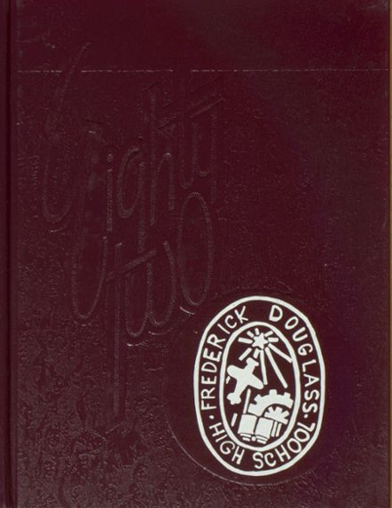 1982 Frederick Douglass High School 450 Yearbook Cover