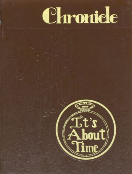 1982 Alliance High School Yearbook Cover