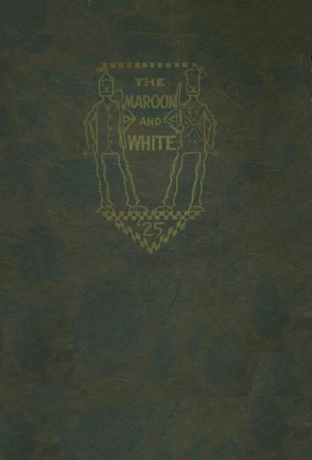 1925 Austin High School Yearbook Cover