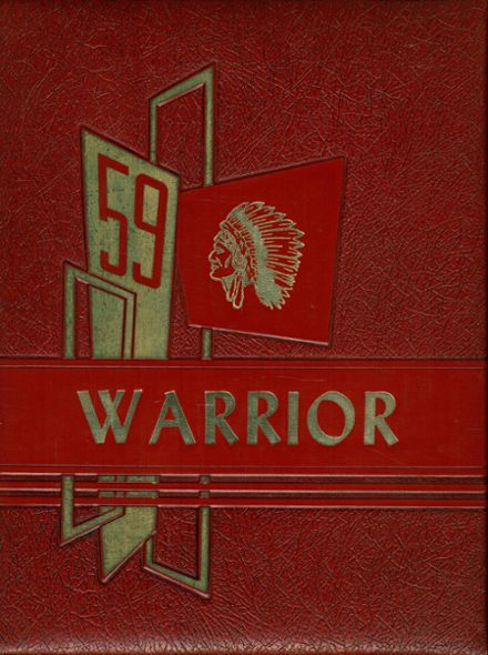 1959 Red Cloud High School Yearbook Cover