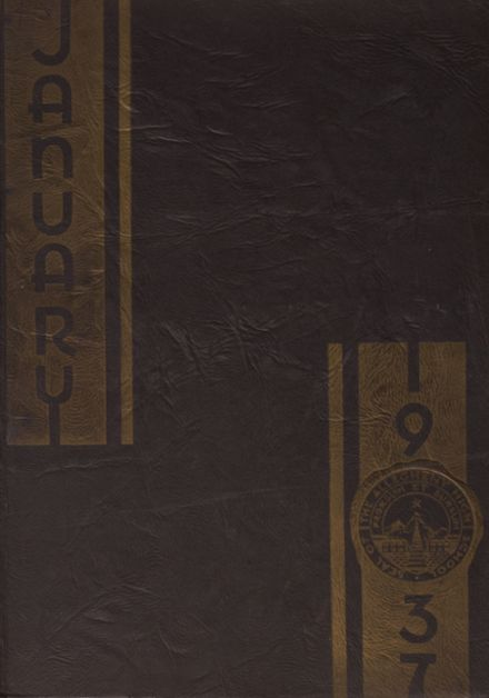 1937 Allegheny High School Yearbook Cover