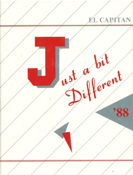1988 Jefferson High School Yearbook Cover