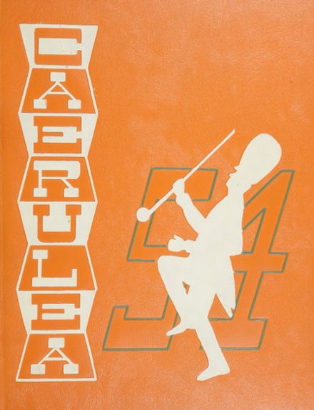 1954 Long Beach Polytechnic High School Yearbook Cover