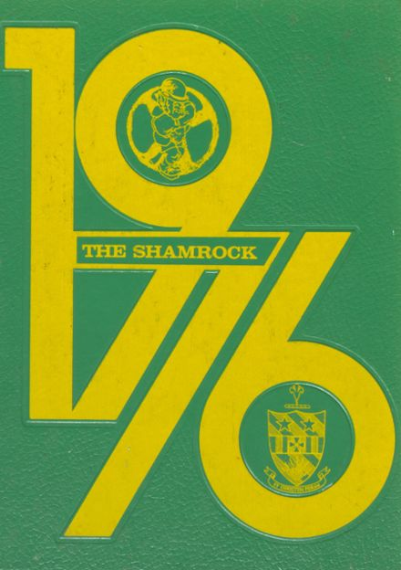 1976 Knoxville Catholic High School Yearbook Cover
