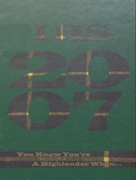 2007 Incline High School Yearbook Cover