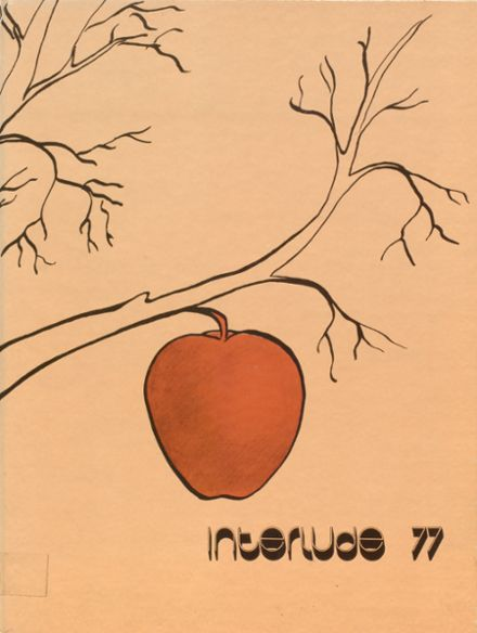 1977 New Milford High School Yearbook Cover