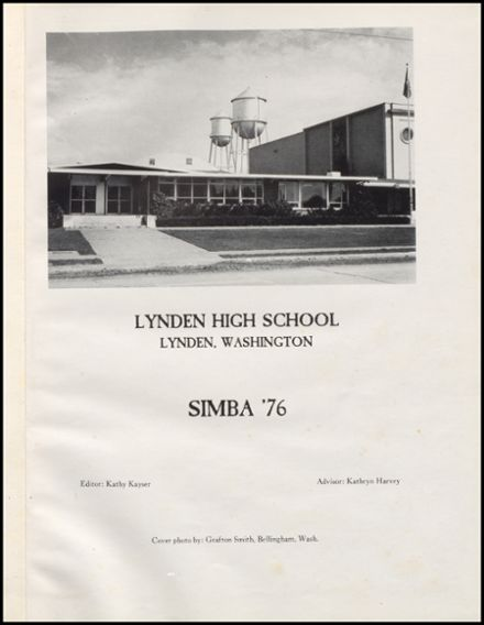 1976 Lynden High School Yearbook Page 5
