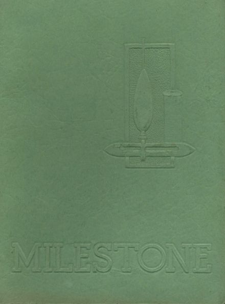 1953 Philadelphia High School for Girls Yearbook Cover
