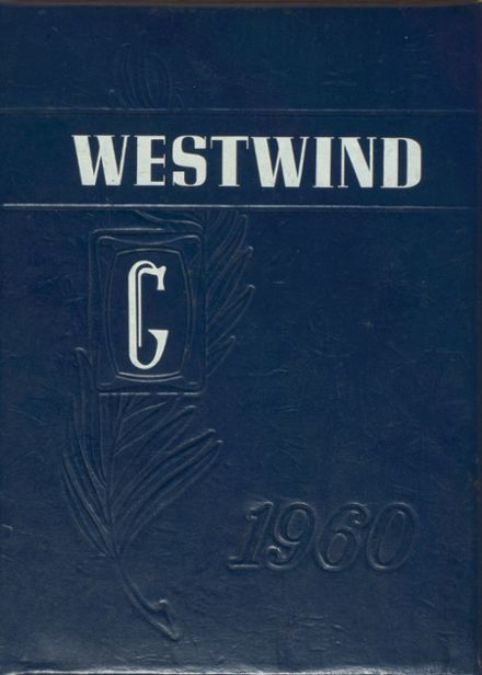 1960 West Geauga High School Yearbook Cover