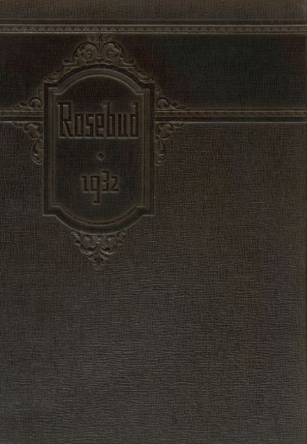 1932 Waterloo High School Yearbook Cover