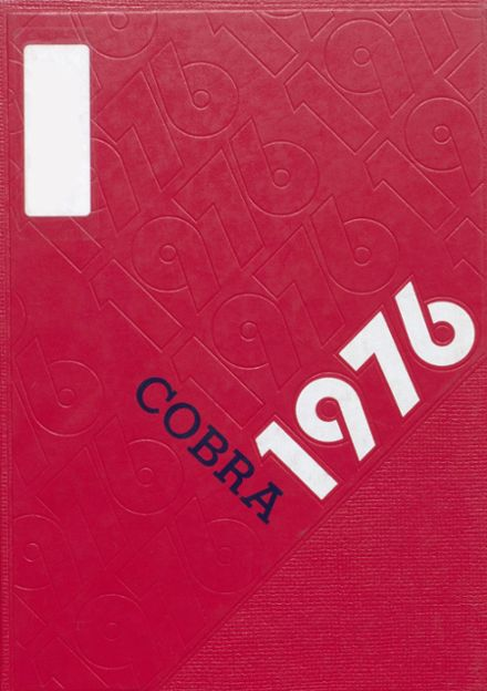 1976 Fountain Lake High School Yearbook Cover