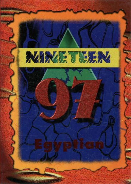 1997 Egyptian High School Yearbook Page 1