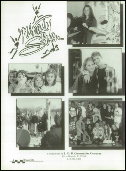 1997 Egyptian High School Yearbook Page 8