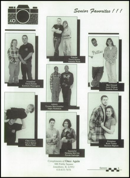 1997 Egyptian High School Yearbook Page 9