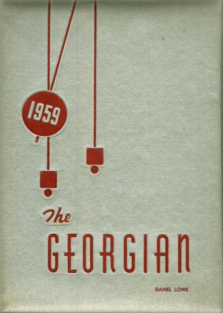 1959 Fairchance-Georges High School Yearbook Cover
