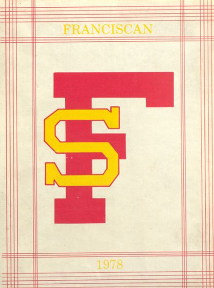 1978 St. Francis High School Yearbook Cover
