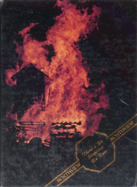 1986 Northview High School Yearbook Cover