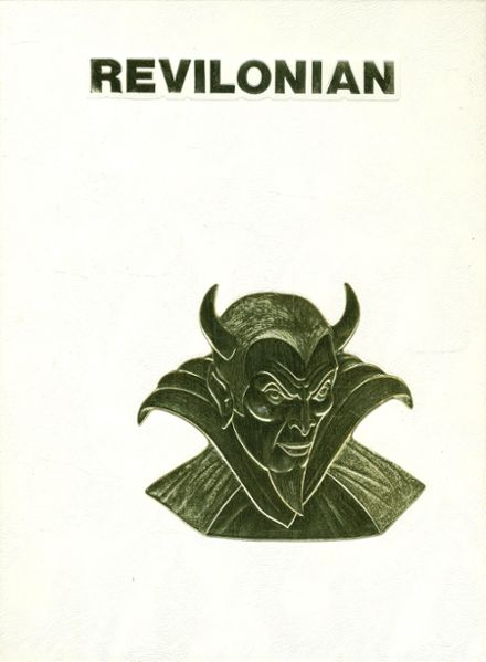 1988 Russell High School Yearbook Cover