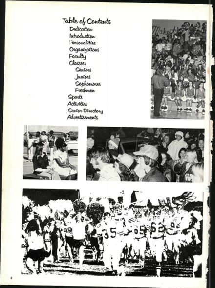 1975 Waxahachie High School Yearbook Page 6
