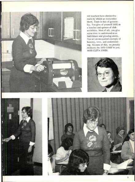 1975 Waxahachie High School Yearbook Page 7