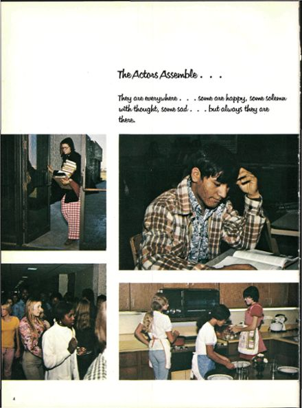 1975 Waxahachie High School Yearbook Page 8