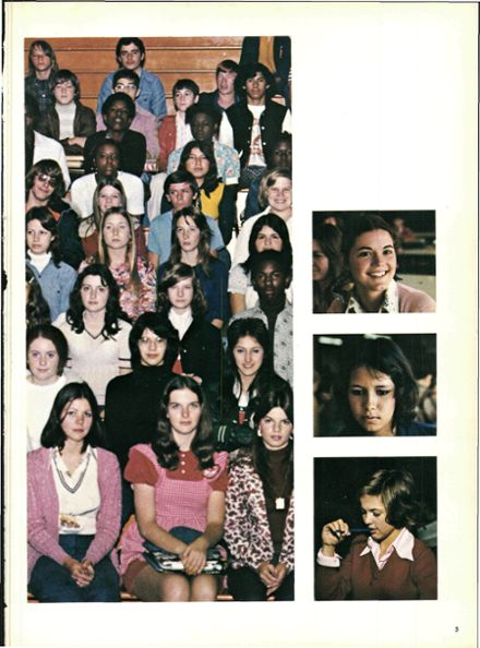 1975 Waxahachie High School Yearbook Page 9