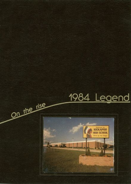 1984 Kickapoo High School Yearbook Page 1