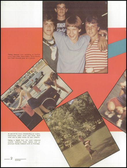1984 Kickapoo High School Yearbook Page 6