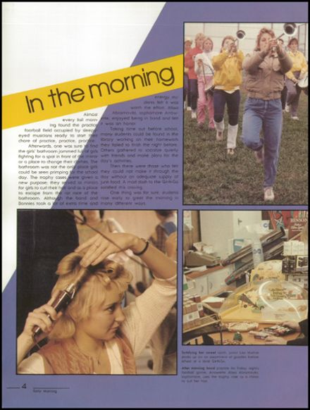 1984 Kickapoo High School Yearbook Page 8