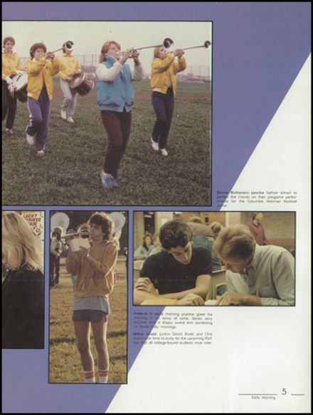 1984 Kickapoo High School Yearbook Page 9