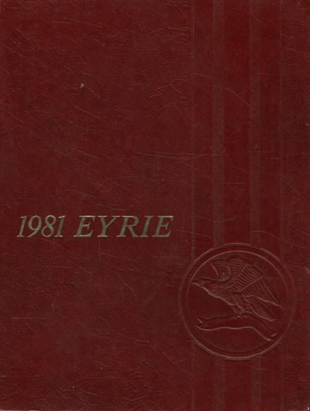 1981 Staunton River High School Yearbook Cover