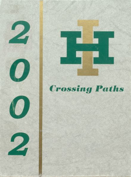 2002 Incline High School Yearbook Cover