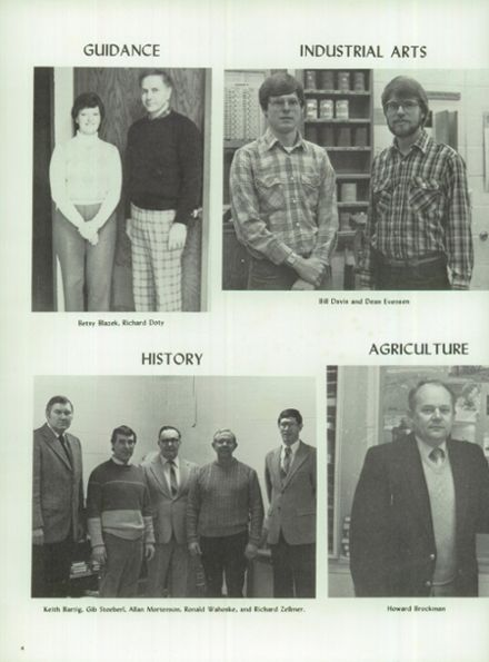 1984 Ripon High School Yearbook Page 8