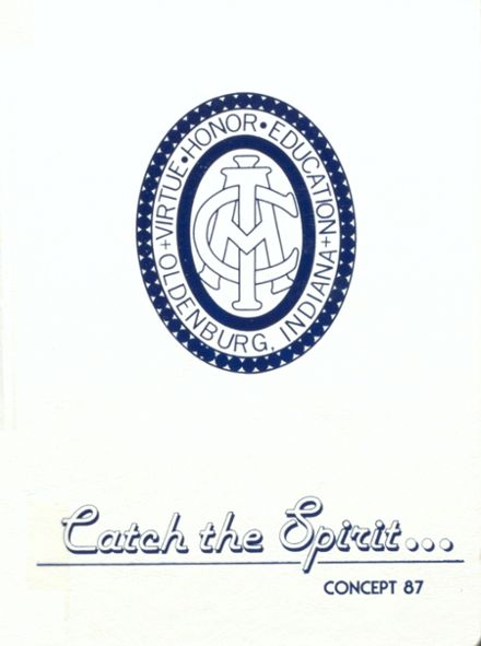 1987 Immaculate Conception Academy High School Yearbook