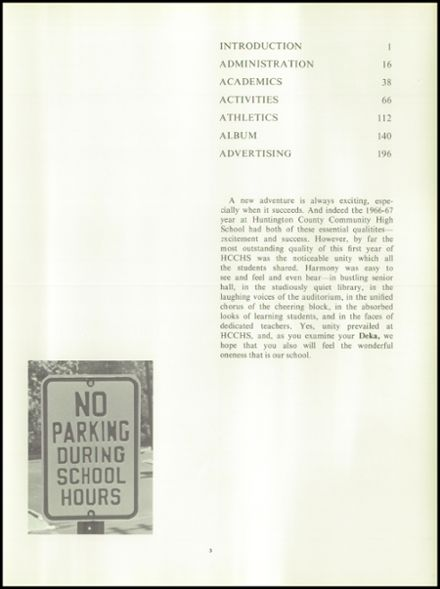 1967 Huntington High School Yearbook Page 7
