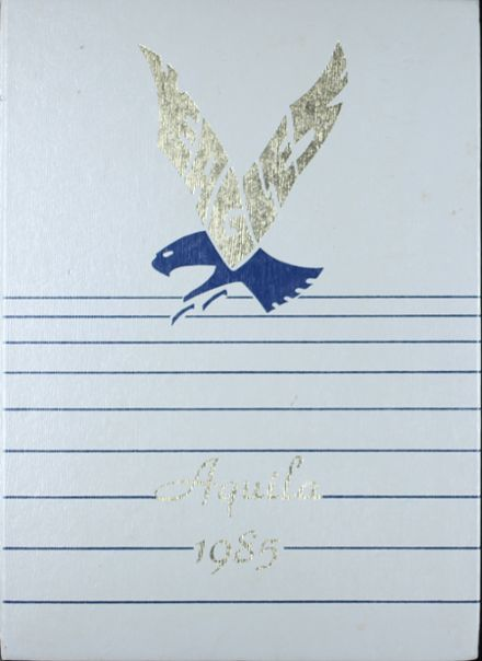 1985 Trinity Heights Christian Academy Yearbook Cover