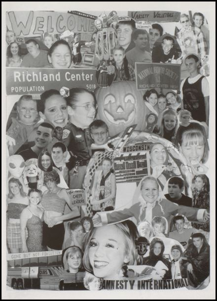 2001 Richland Center High School Yearbook Page 7