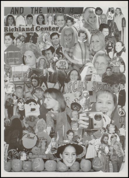 2001 Richland Center High School Yearbook Page 8