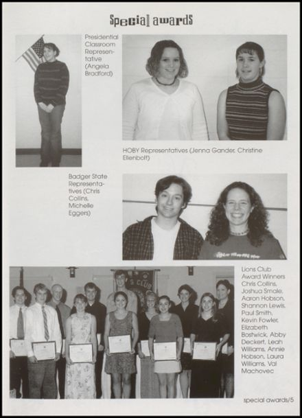 2001 Richland Center High School Yearbook Page 9