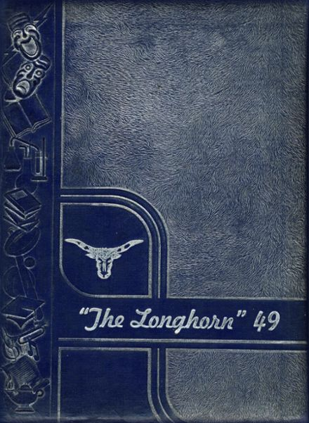 1949 George West High School Yearbook Cover