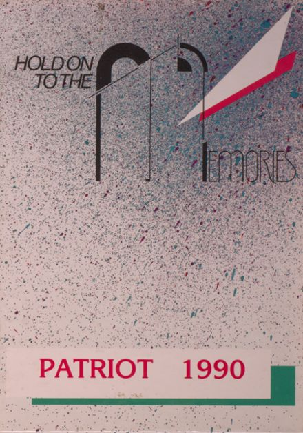 1990 Arendell Parrott Academy Yearbook Cover
