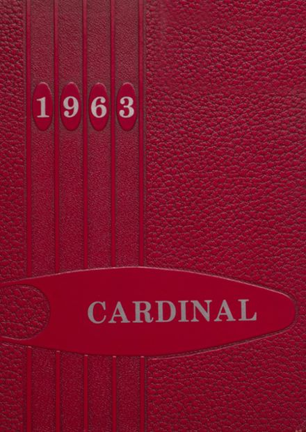 1963 Taylor County High School Yearbook Cover