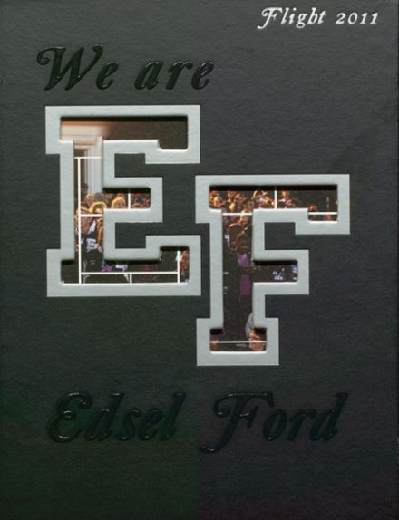 2011 Edsel Ford High School Yearbook Cover